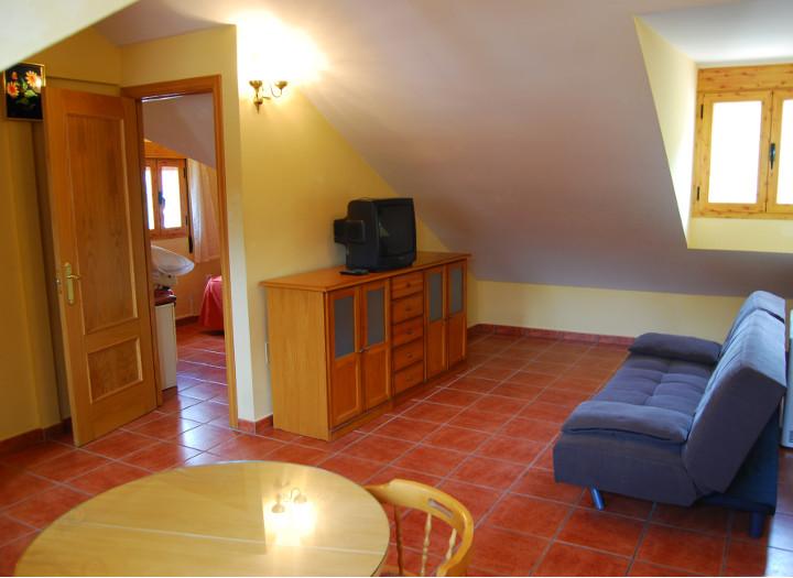 Apartamentos dormitorio salón