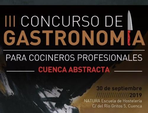 III Concurso de Gastronomía «Cuenca Abstracta»