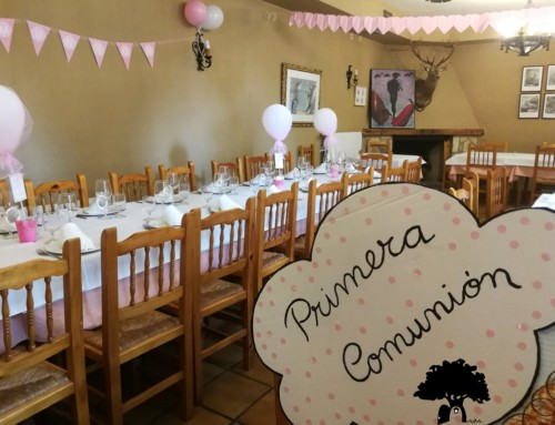 Celebra tu comunión en el restaurante La Noguera
