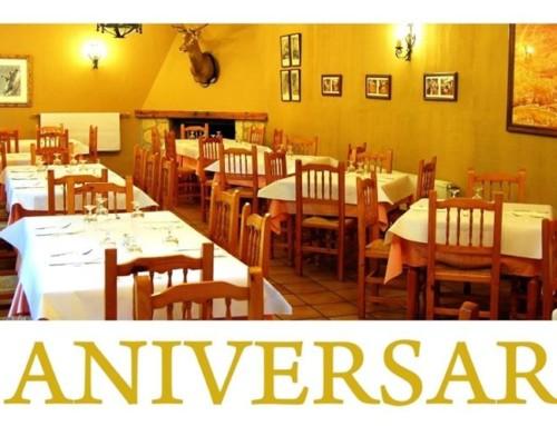 25 aniversario del restaurante La Noguera